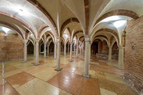 abbey of nonantola one of the most important in the year one thousand Wallpaper Mural
