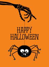 Happy Halloween - Cute Spider ...