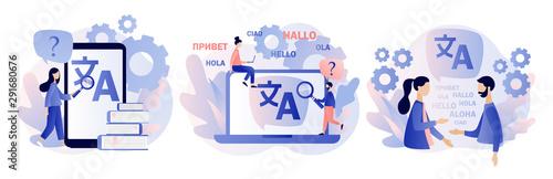 Fotomural  Translation concept