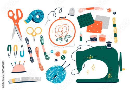 Cuadros en Lienzo  Needlework concept