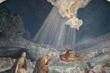 Angel Of The Lord Visited The Shepherds And Informed Them Of Jesus' Birth, Church At The Shepherds' Fields,  Bethlehem