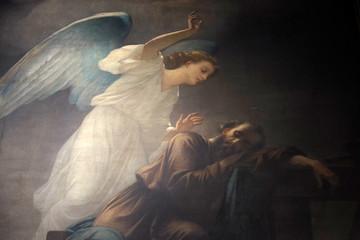 Joseph's dream, fresco in t...