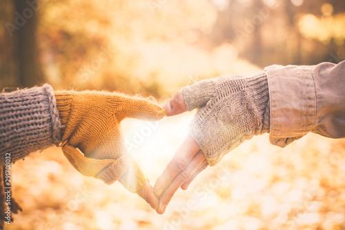 Herbstliebe Herz