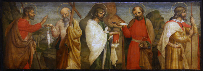 Lorenzo D'Alessandro: Five Apostles