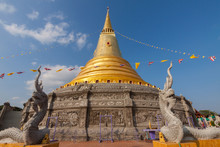 Buddhist Temple In Nan Province  Northern Of Thailand.