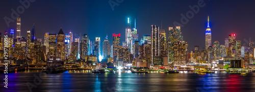 Photo  New York City Manhattan midtown buildings skyline