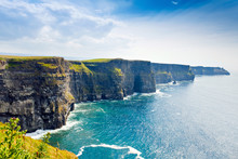 Spectacular Cliffs Of Moher Ar...