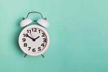 Vintage Alarm Clock Isolated O...