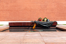 Eternal Flame On The Tomb Of The Unknown Soldier
