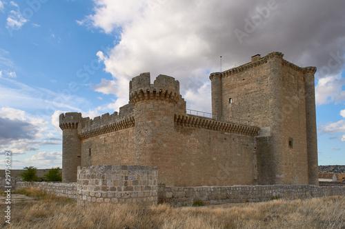 Castillo de Villafuerte de Esgueva, Valladolid / Spain