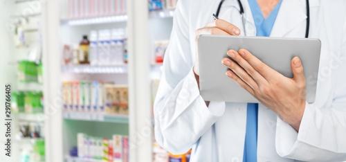 Photo sur Toile Pharmacie Adult.