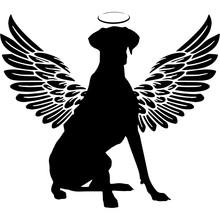 Pet Memorial, Angel Wings Grea...