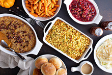 Variety Of Thanksgiving Sides ...