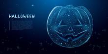 Halloween Pumpkin From Wirefra...