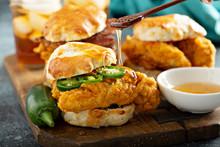 Breakfast Biscuit Sandwiches W...