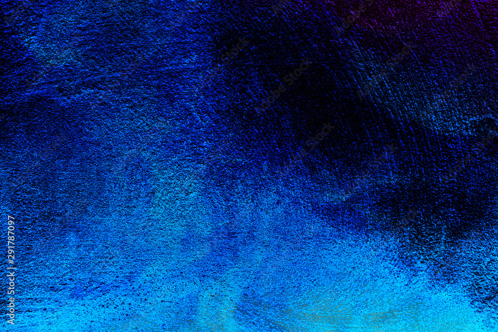 Fototapety, obrazy: Beautiful closeup textures abstract colorful dark black white blue tiles floor granite and darkness blue pattern background and wallpaper