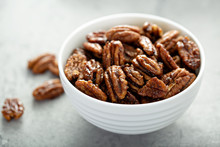 Caramelized Or Candied Pecans ...