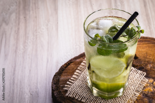 Mojito, Cuban drink known worldwide Wallpaper Mural