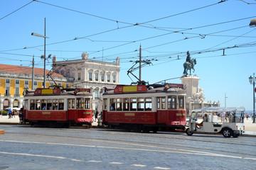 Tramways à Lisbonne - Portugal