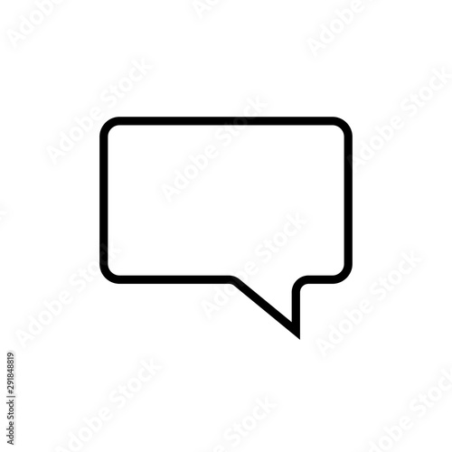 Photo  Speech Bubbles Vector Icon On Modern White Background