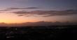 高台からの夕景 沖縄の街並み