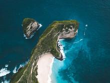 T-rex Shaped Marvelous Bay In Indian Ocean