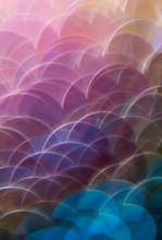 Mermaid Scale Paillettes Photographed Through A Prism