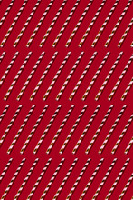 Golden Drinking Straw Pattern On Red
