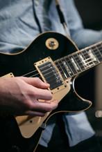 Musician: Man Playing Electric...