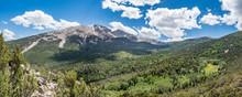 Wheeler Peak At Great Basin Na...
