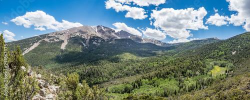 Obraz na plátně Wheeler Peak at Great Basin National Park, Baker, Nevada, USA