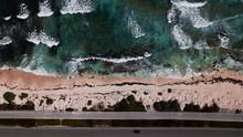 Long Road Along The Ocean - Mexico