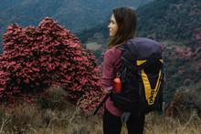 Young Woman Naturewalk