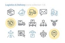 Logistics & Delivery Vector Ic...