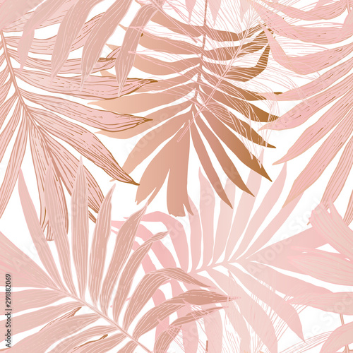 hand-drawn-abstract-tropical-summer-background-fan-palm-tree-leaves-in-silhouette-line-art-with-glossy-gradient-effect
