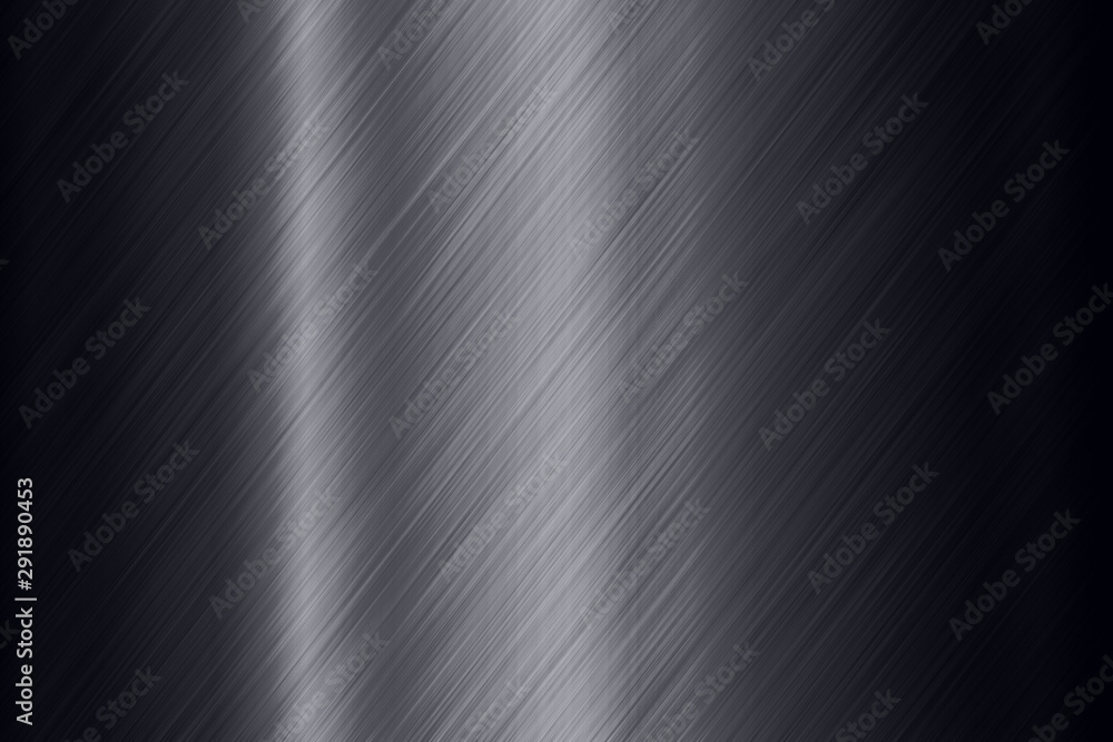 Fototapety, obrazy: Black steel surface background
