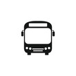 Bus icon symbol vector. on white background Untitled-4