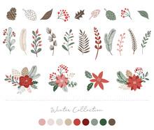 Botanical Christmas, Xmas Elem...