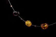 Fulvous Amber Necklace