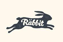 Rabbit, Lettering. Design Of F...