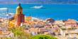 canvas print picture - Saint-Tropez, France