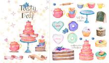 Tasty Set Of Birthday Party. W...