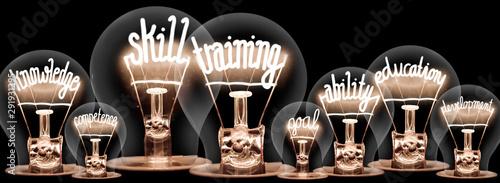 Light Bulbs Concept Fototapeta