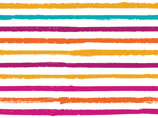 Hand drawn striped seamless pattern vintage background for textile.