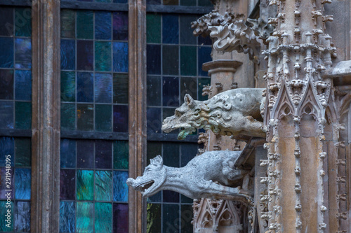 Elements of Gothic architecture Canvas Print