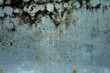 canvas print picture - Detail of dirty glass on abandoned building