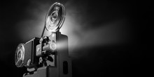 Vintage Film Projector And Fil...