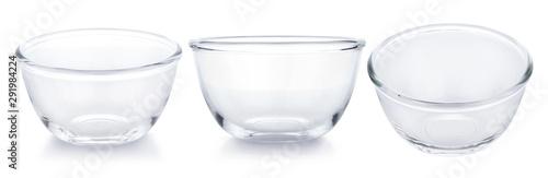 Fotografía  Empty bowl on white background