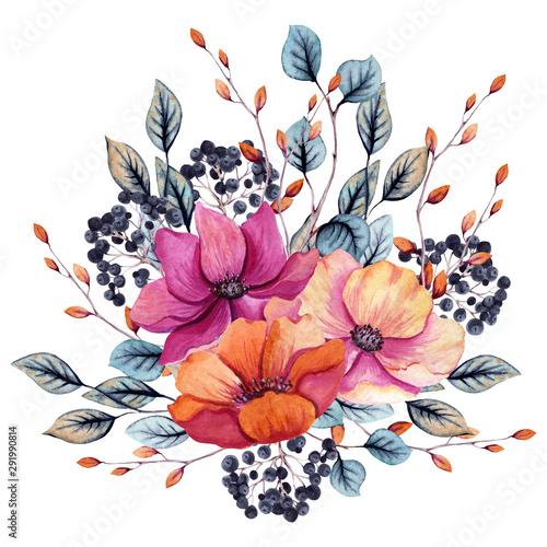akwarela-kompozycja-kwiatowa-jesien