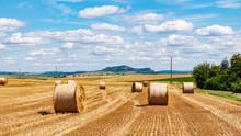 Autumn Landscape, The Wheat Ha...